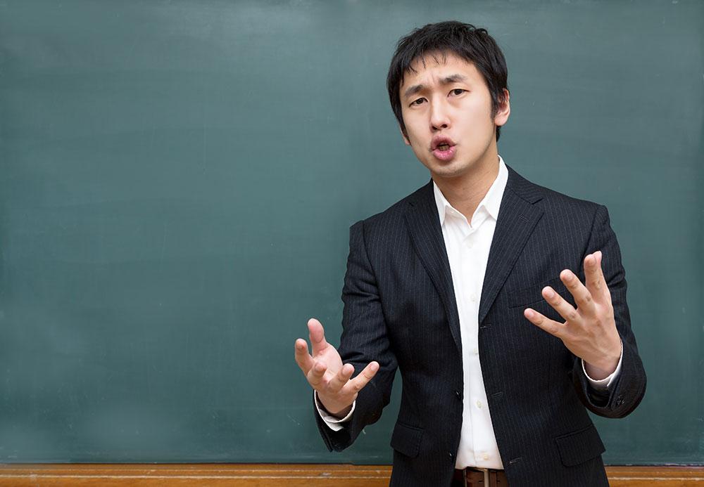 韓国語について質問する、答える。
